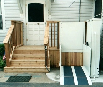 Vertical Platform lift,garage stair lift
